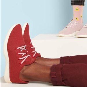 Allbirds Sneakers Red Wool Mens 11